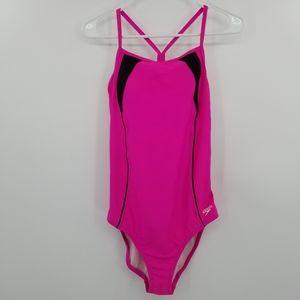 Speedo One Piece Pink Bathing Suit
